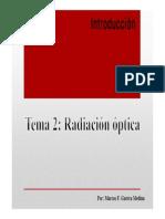 TEMA 2 FIBRAS ÓPTICAS