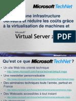 12- Optimiser une infrastructure Serveurs et réduire les coûts grâce à la virtualisation de machines