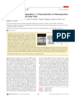 Quantum Dot Size Dependent J-V Characteristics in Heterojunction ZnOPbS Quantum Dot Solar Cells