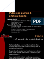 Pulseless Pumps & Artificial Hearts