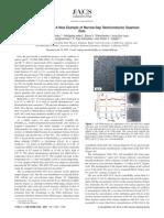 SnTe Nanocrystals a New Example of Narrow-Gap Semiconductor Quantum Dot Ja074481z