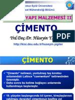 Ym II#3 Cimento