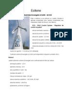 Turbine Eoliene 40 kW