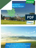 Wahlbroschüre CSU Gemeinde Münsing 2014 Web