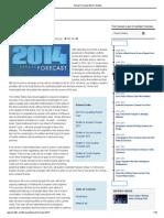 Annual Forecast 2014 Stratfor
