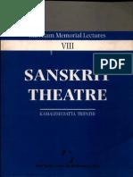 Sanskrit Theatre - Kamlesh Dutta Tripathi