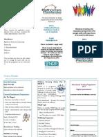 Gateway Training & Education Opportunities Leaflet 2014