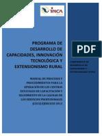 Manual de Procesos y Procedimientos Cecs 2012