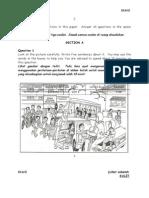 ENGLISH UPPM MARCH 2014 PAPER 2  FOR TIRAM ZONES' SCHOOLS YEAR 6