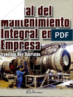 Manual de Mantenimiento Integral de La Empresa