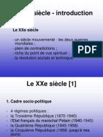 Le XXe Siecle - Curs 1