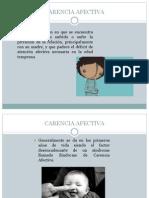 CARENCIA AFECTIVA.pptx