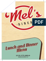 1242 Mels Lunch and Dinner Menu Pages