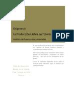 Fuentes históricas primarias y secundarias.