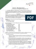 Acta Nº1 - Mesa Negociadora Convenio Vinsa Seguridad (11-03-14)