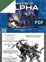 3D&T - Bestiário Alpha - Versão - 1.0