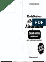 Marele Dictionar Al BOLILOR Si AFECTIUNILOR - Jacques-Martel