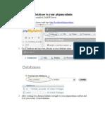 Importing Twa Database to Your Phpmyadmin