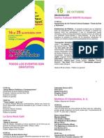 3er Festival Cultural Ecatepec - Programacion