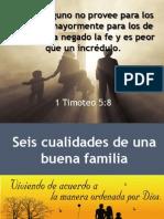 6 Cualidades de Una Buena Familia