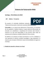 Cotización Sistema de Facturacion FM Generica v3 - 065-24Feb2014