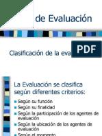 03. Tipos de Evaluacion