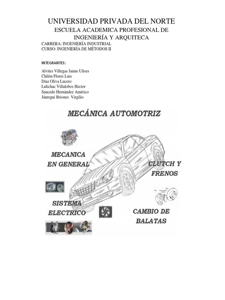 Distribucion de un taller mecanico automotriz listo para presentar ccuart Image collections