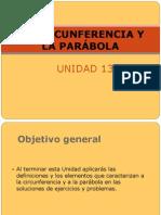 Circunferencia Parabola