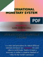 International Monetary System Coloured