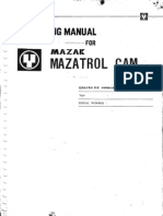 Mazatrol M2 Operator Manual