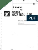 Mazatrol M2 Operator Manual