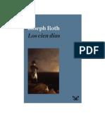 Roth Joseph - Los Cien Dias