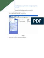 Pengaturan Printer Lx300