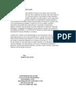 Informe de Finura y Densidad Del Cemento