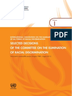 CERD, Selected Decisions - Volume 1