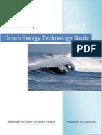 Ocean Energy Technology Study DanWEC Kim Nielsen & Erik Friis-Madsen