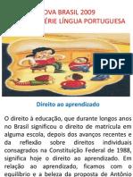 APRESENTAÇÃO PROVA BRASIL 9º ANO LÍNGUA PORTUGUESA 2