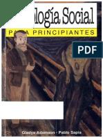 Psicologia Social Para Principiantes (Gladys Adamson)