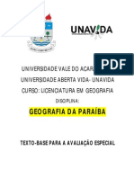 Tex to Uva Intro Duca o Paraiba