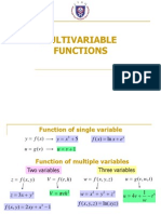 1.Multivariable Functions