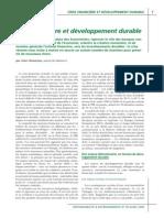 Crise Financiere Et Developpement Durable Grandjean