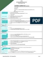 Calendário Acadêmico - Atualizado
