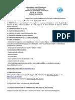 Seleção de bolsistas-Projeto de Monitoria-Edital35