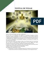Celebracion Del Festival de Wesak