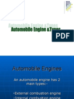 Automobile Engines and Types