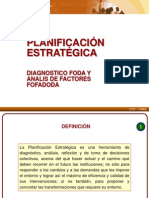 4 Articulacion PAT PEI - Diagnostico - FODA