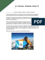 Guatemaltecos Que Han Escalado El Monte Everest