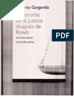 Las Teorias de La Justicia Despues de Rawls- Capitulo 1