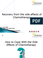 Recovery from the side effects of Chemotherapy