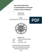 Paper Kasus Etika Bisnis - Industri Kopi Luwak